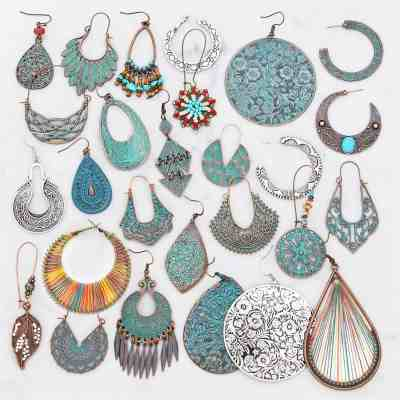 JANE: Boho Patina Earrings only $7.99 shipped!