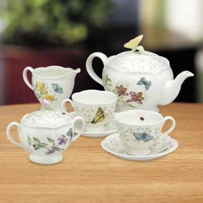 Wayfair: Butterfly Meadow 9 Piece Teapot Set $79.99 + Free shipping At Reg.$268.00