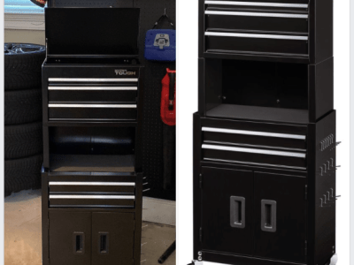 Walmart: 20-In 5-Drawer Rolling Tool Chest & Cabinet Combo w/ Riser $87.00 (Reg $199.97)