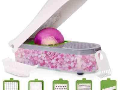 Amazon: Vegetable Chopper Onion Chopper w/ Container $11.4 ($19)