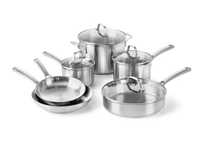 Kohl's: Calphalon Classic 10-pc. Stainless Steel Cookware Set Now $169.99 ($249.99)