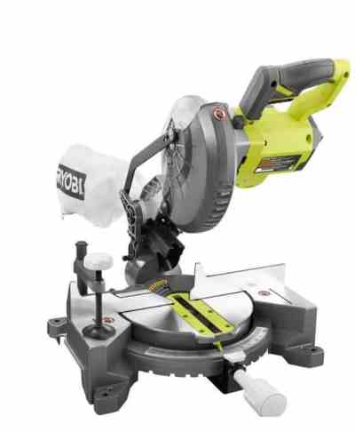Homedepot: RYOBI 18-Volt ONE+ Cordless 7-1/4 in. Compound Miter Saw (Tool Only) $99.00 (Reg $149.00)