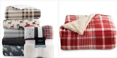 Kohl's: Cuddl Duds® Cozy Soft Plush to Faux Fur Throw, Just $24.99 (Reg $49.99)