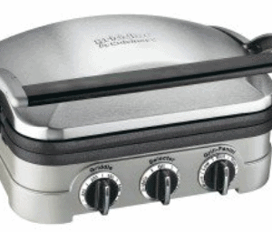 Walmart: Cuisinart Stainless Steel Multifunctional Grill Only $90.38 (Reg. $108.46)