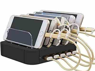 Amazon: Etmury 5 Port USB Charging Station Dock for $15.99