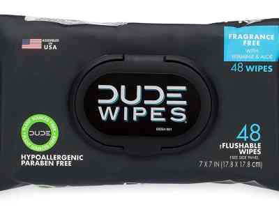 Amazon: DUDE Wipes Flushable Wipes Dispenser, 48 Count, Just $2.98 (Reg $6.99)