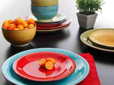 Walmart: Dinnerware, Assorted Colors, Set of 12 Only $28.99 (Reg. $34.99)
