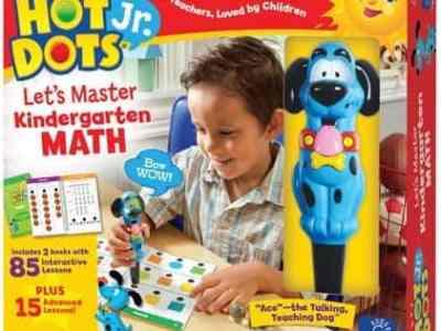Amazon: Educational Insights Hot Dots Jr. Let's Master Kindergarten Math Set, Just $14.90 (Reg $24.99)