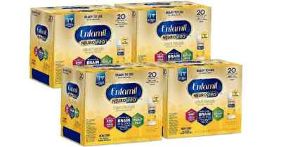 Amazon: 24 Ct Enfamil NeuroPro Baby Formula Milk, 2 Fl Oz Nursette $19.5 ($32)