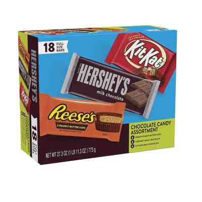 Amazon: Hershey's Milk Chocolate & KIT KAT & REESE'S Cups - GREAT PRICE