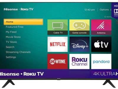 Amazon: Hisense 4K UHD Roku TV 55 Inch Only $199 + FREE Shipping (Reg. $300)