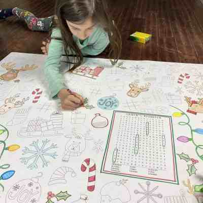 Jane: Huge Activity Coloring Sheets only $8.99 + shipping!