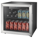 Best Buy: Insignia™ - 48-Can Beverage Cooler - Stainless steel/Silver For $124.99 At Reg.$179.99