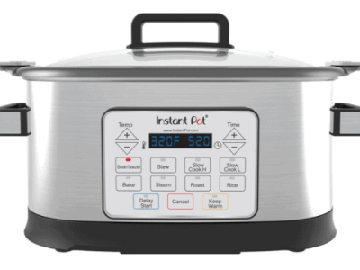 Walmart: Instant Pot Gem 6 Qt 8-in-1 Programmable Multicooker for $49.00 + Free Shipping! (Reg. Price $79.00)