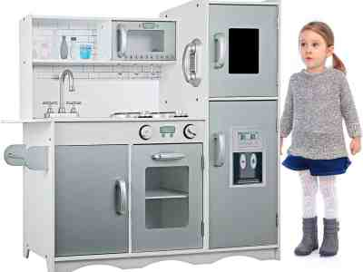 Amazon: GOLDORO Kids Kitchen Playset Only $88.19 after Code!