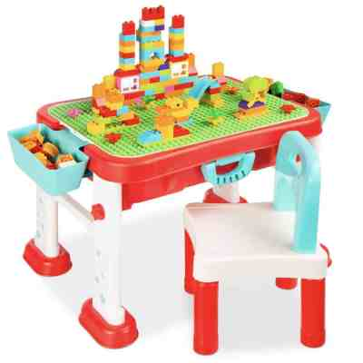 Best Choice Products: Kids 8-in-1 Activity Table Building Block Station, Just $54.99 (Reg $85.99)