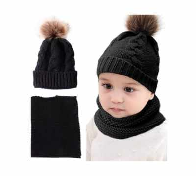 Amazon: Kids Winter Warm Knit Beanie & Neck Warmer for $8.49 (Reg. Price $16.98)