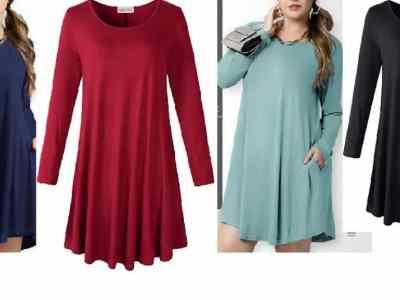 Amazon: LARACE Women's Plus Size Dresses with Pockets $8.79 ($22)