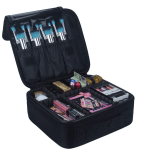 Amazon: Relavel Travel Makeup Organizer for $14.23