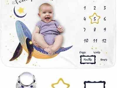 Amazon: Baby Milestone Blanket for $15.99 Shipped! (Reg. $19.99)