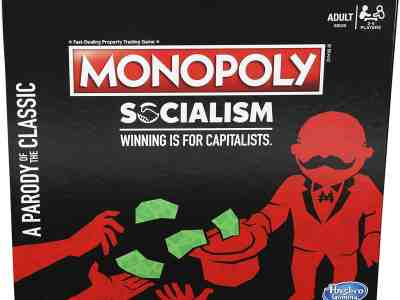 Amazon: Monopoly Socialism Board Game Parody Adult Party Game, Just $11.60 (Reg $19.99)