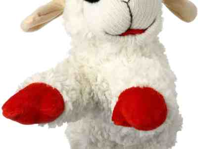 "Amazon: Multipet Lambchop Plush Dog Toy 10"" with Squeaker, Just $5.99 (Reg $14.75)"
