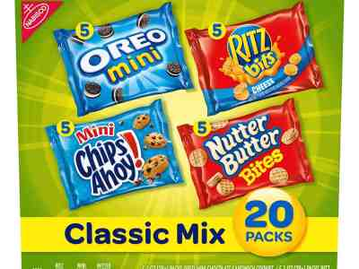 Amazon: 20 Count Nabisco Classic Mix Variety Pack for $6.98 Shipped!