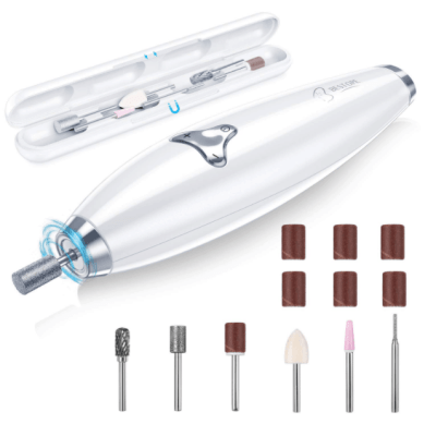 Amazon: BESTOPE 15Pcs Professional Electric Nail Drill Now $15.99