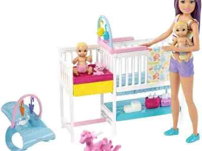 Walmart: Barbie Nap 'n Nurture Nursery Dolls Playset $22.99 (Reg $29.88)