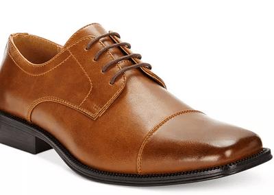 Macy's: Alfani Men's Adam Cap Toe Oxford Shoes only $18.99 (Reg. $60!)