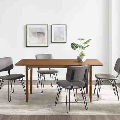 "JANE: Olsen 68"" Modern Wood Dining Table For $249.99 At Reg.$529.00 FREE SHIPPING"