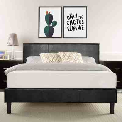Amazon: Upholstered Platform Bed Starts from $100