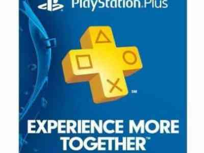 eBay: Sony PlayStation PS Plus 12-Month / 1 Year Membership Subscription $30.99