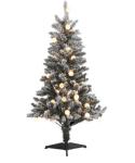 Belk: 4-Foot Flocked Multi Color Pre-Lit Tree ONLY $24 (Reg $80)