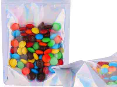 Amazon: 100 Pcs Resealable Stand Up Smell Proof Bags for $7.49 (Reg. $14.99)