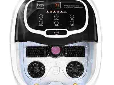 Best Choice Products: Portable Heated Shiatsu Foot Bath Massage Spa w/ Pumice Stone, Just $69.99 (Reg $109.99)