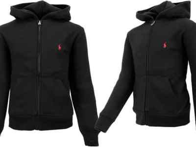 Proozy: Ralph Lauren Boy's Full Zip Hood Jacket ONLY $24.99 Shipped (Reg $50)