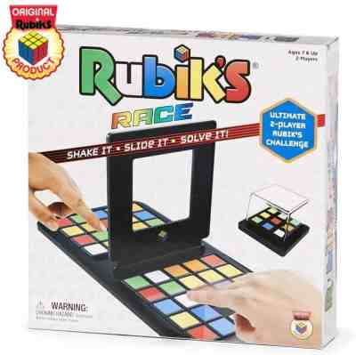 Amazon: Rubik's Race Game, Head To Head Fast Paced Square Shifting Board Game, Just $12.74 (Reg $19.99)
