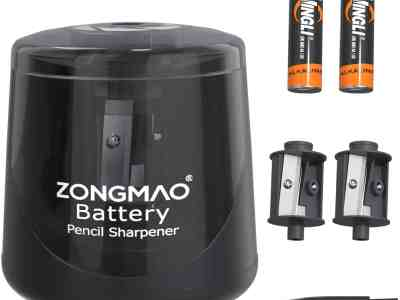 Amazon: Battery Powered Electric Pencil Sharpener $6.3 ($14)