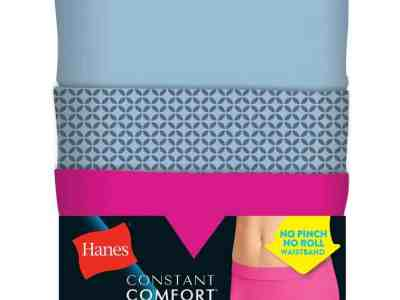 Hanes: Women's Microfiber Boy Short Panties for $3.50 with Code