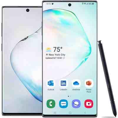 eBay: Samsung Galaxy Note10 Black 256GB US Model (Unlocked) w/Standard 1yr Factory Warranty only $549.99