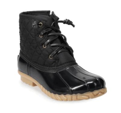 Kohl's: SO® Wombat Women's Duck Boots for $19.99(Reg. $59.99)