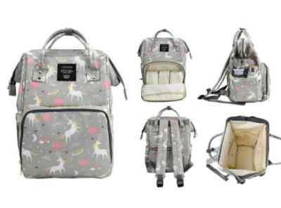 Amazon: Multi Function Diaper Bag Backpack, Unicorn for $14.24 (Reg. $28.99)
