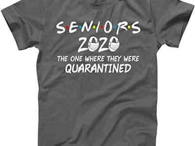 Amazon: 80% Off at Checkout* Seniors 2020 Quarantined Tees