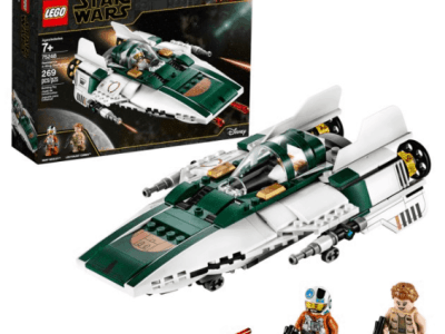 Walmart: LEGO Star Wars Rise of Skywalker Resistance A-Wing Starfighter (269 Pieces)$24.47 + Free Store Pickup! (Reg. Price $29.99)