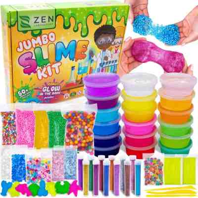 Amazon: Ultimate Glow in the Dark Glitter Slime Making Kit, Just $15.70 (Reg $23.95)