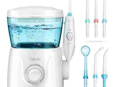 Amazon: Water Flosser Dental Oral Irrigator only $19.79 W/Code (Reg. $35.99)