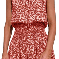 Amazon : Floral Sleeveless Sundress Just $6.20 W/Code (Reg : $30.99)