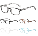 Amazon: BLS 5 Pack Blue Light Blocking Reading Glasses Women/Men for $6.39 W/Code (Reg. $15.98)