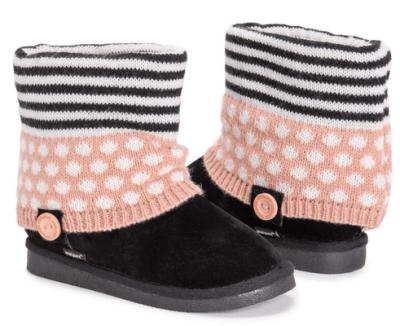 JANE: MUK LUKS Girl's Patti Boots only $19.99 shipped!